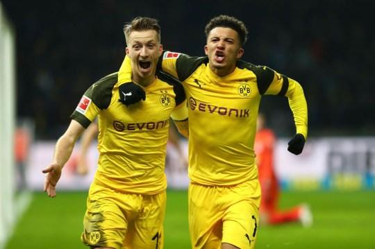 Borussia Dortmund กัปตัน Marco Reus